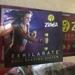 NWOT Zumba 2 Cds Step by step/ toning workout